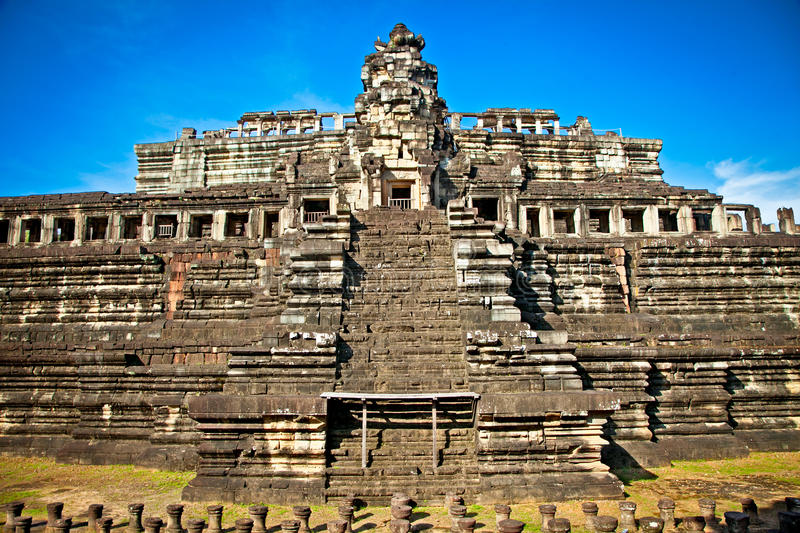 Baphuon temple, Angkor Thom City, Cambodia. Baphuon temple, Angkor Thom City, near Siem Reap, Cambodia stock images