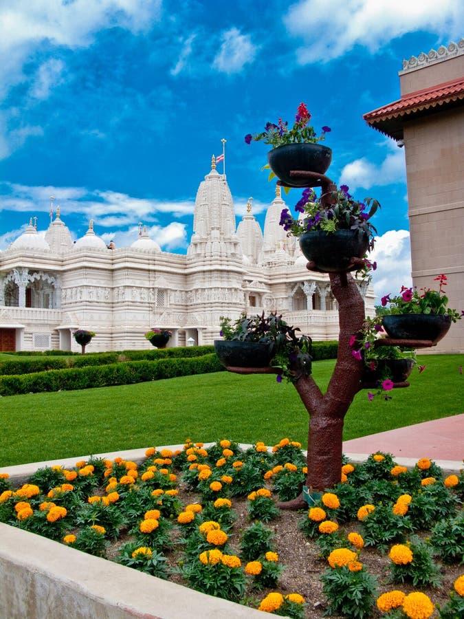 BAPS Świątynni zdjęcie stock