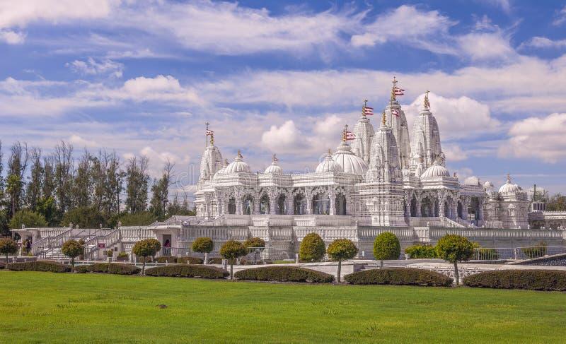 BAPS Shri Swaminarayan Mandir Houston images libres de droits
