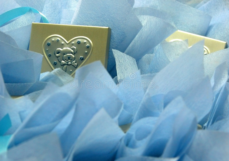 Baptism gifts royalty free stock photography