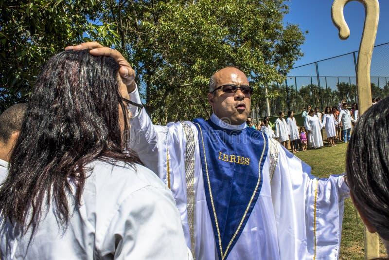 Baptisme ceremonia zdjęcia stock