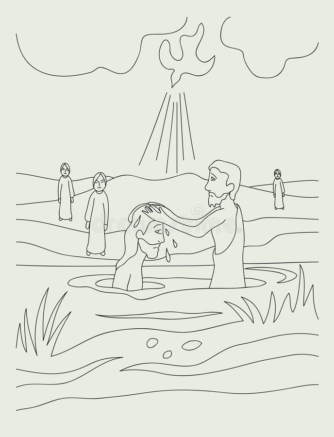 baptist royalty ilustracja