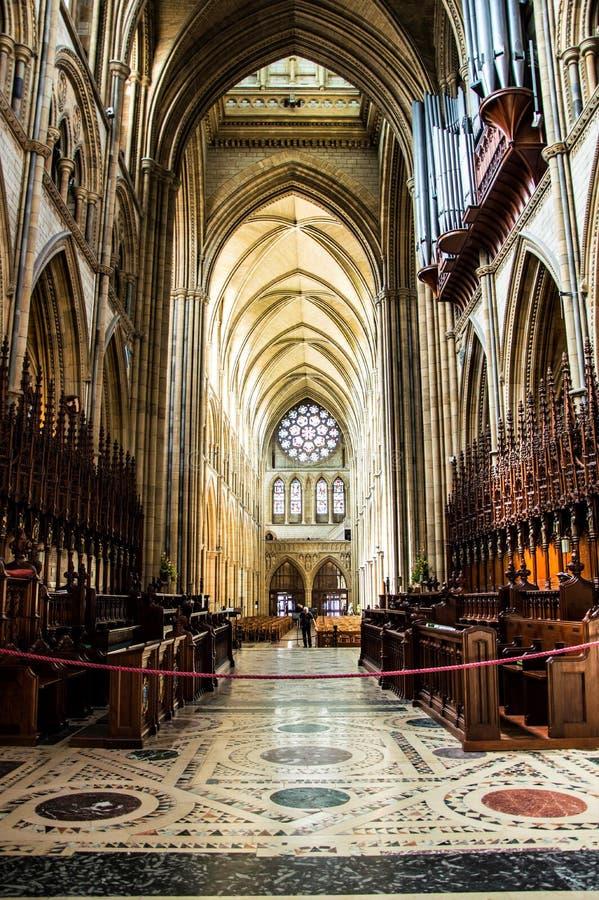 Baptist Cathedral Turo Cornwall au R-U photographie stock libre de droits