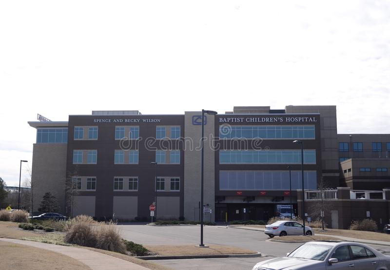Baptist Children`s Hospital, Memphis Tennessee stock photography
