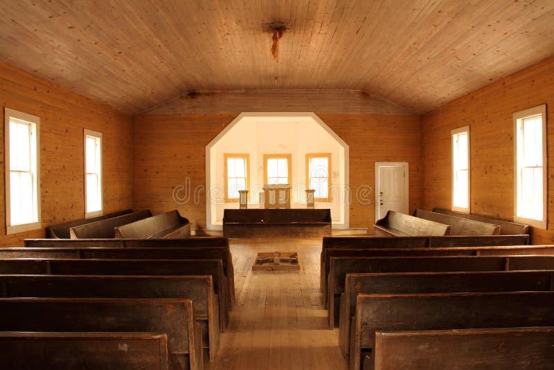 Baptist Church Interior fotos de stock