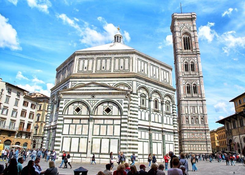 Baptisterio de los di San Giovanni, Florencia del St JohnBattistero imagen de archivo libre de regalías