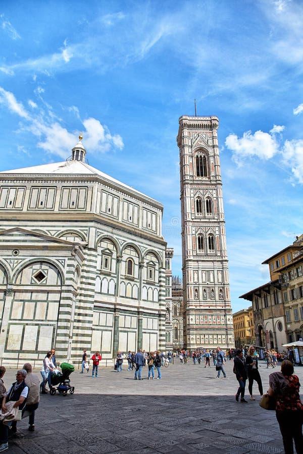 Baptisterio de los di San Giovanni, Florencia del St JohnBattistero imagenes de archivo