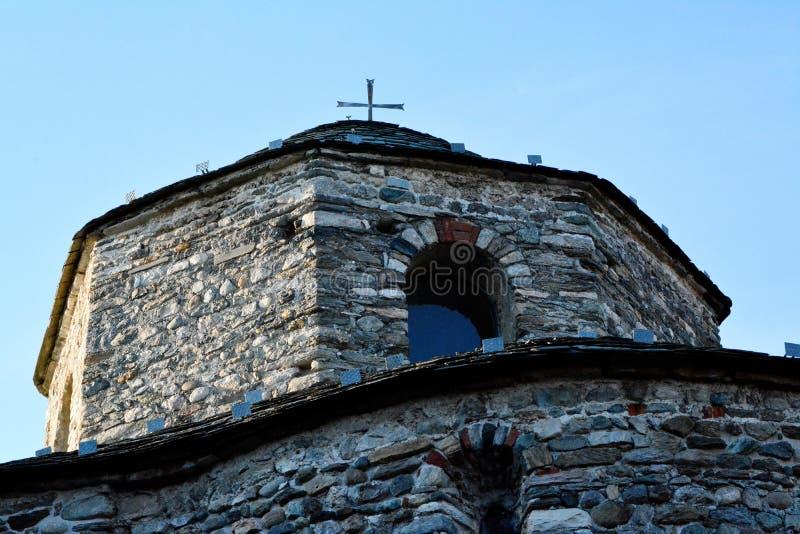 Baptisterio de San Vicente en Cantu fotografía de archivo libre de regalías