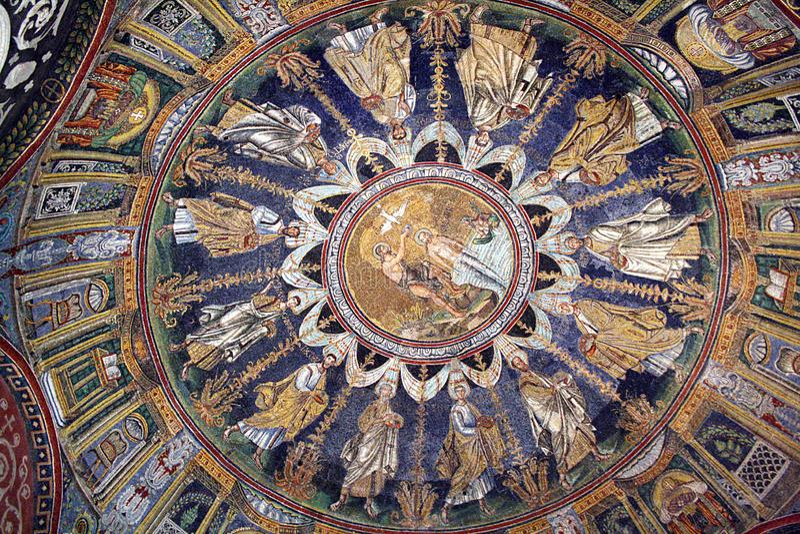Baptistery de Neoniano fotografia de stock royalty free