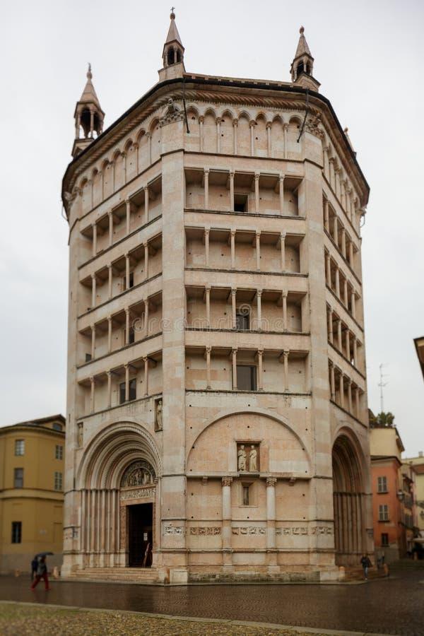 Baptistery de Parma foto de stock royalty free