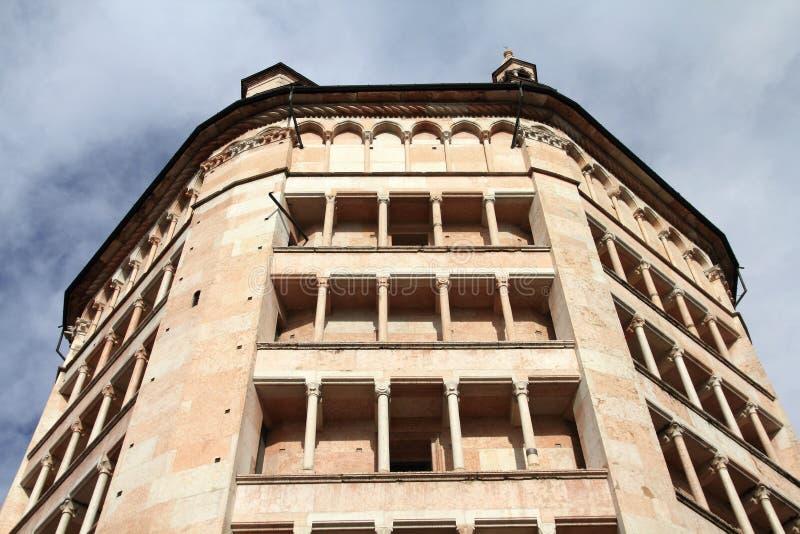 Baptistery de Parma fotografia de stock royalty free