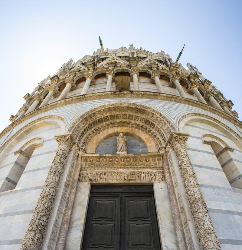 Baptistery de Pisa de St John foto de stock royalty free