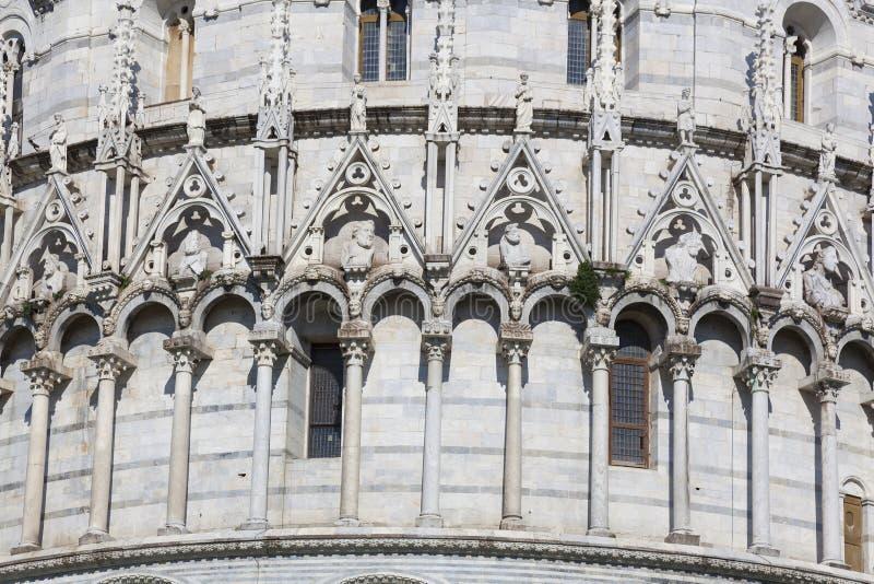Baptistery, Piazza dei Miracoli, Pisa royalty free stock photography