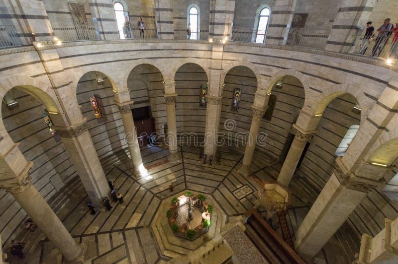 baptistery pisa стоковое изображение rf
