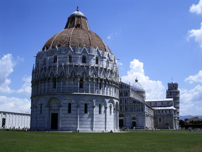 baptistery Pisa zdjęcie stock