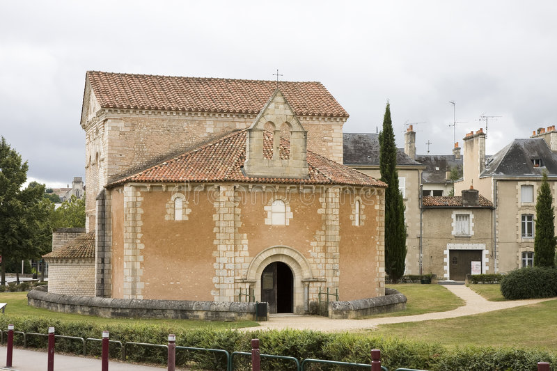 Baptistery in Poitiers, France