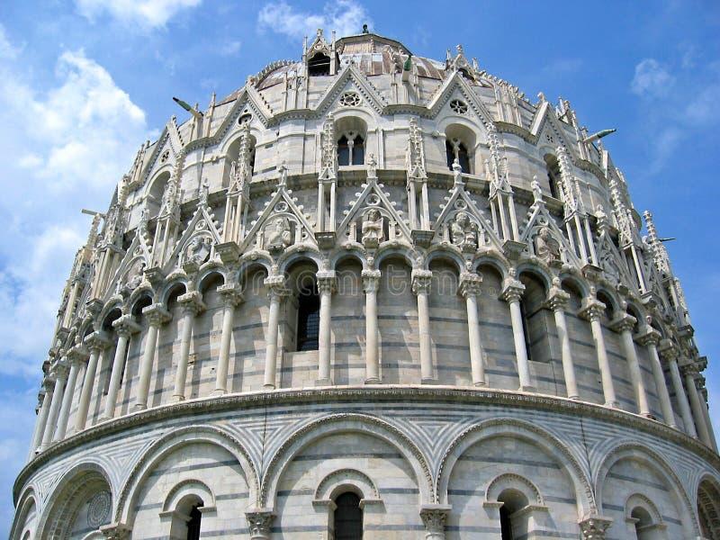 Baptistry Pisa fotografía de archivo libre de regalías
