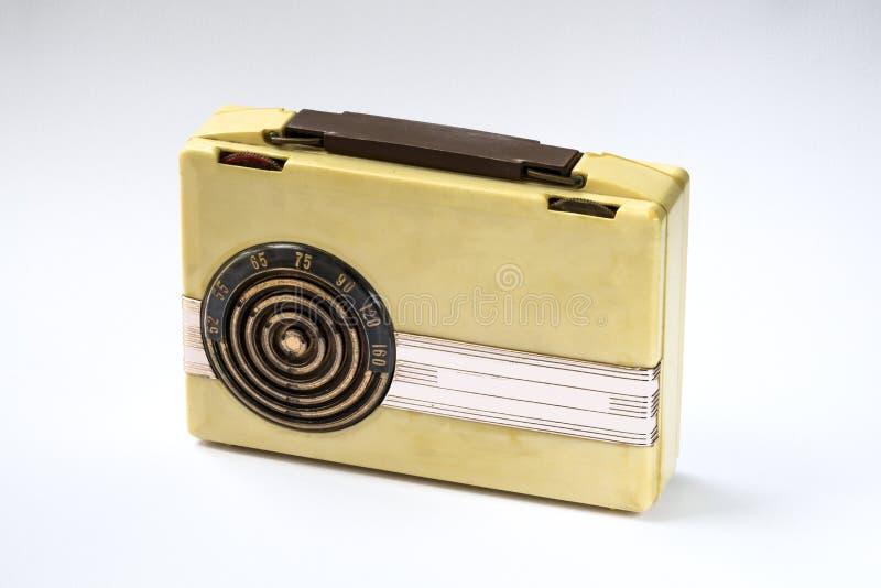 Baquelite de rádio do vintage fotografia de stock