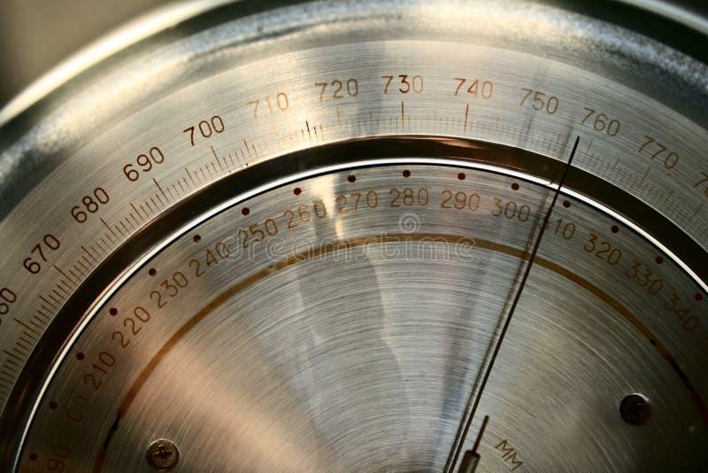 Barómetro profissional imagens de stock