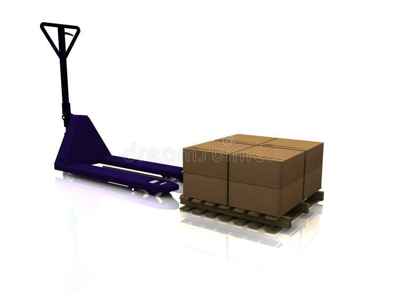 barłóg ciężarówka ilustracja wektor