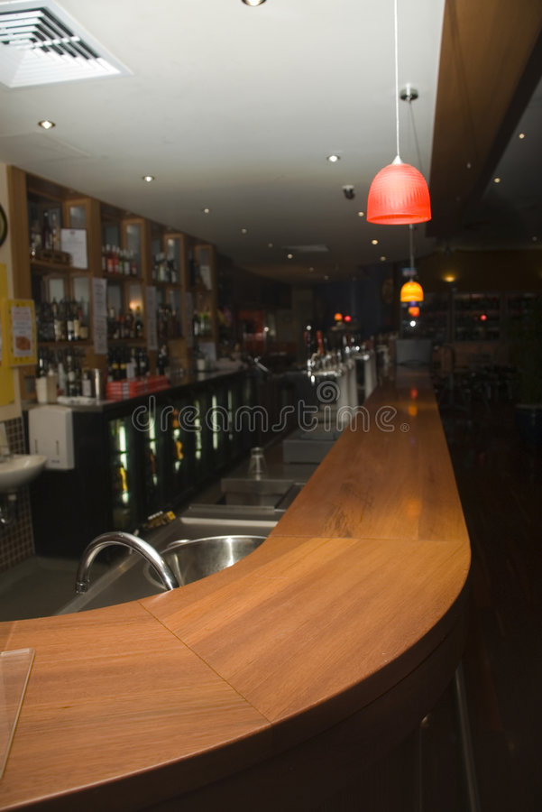 Bar photographie stock libre de droits