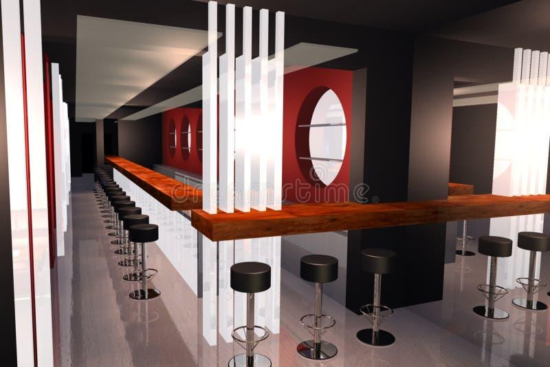 Download Bar 3D render image stock illustration. Illustration of beverage - 21890826