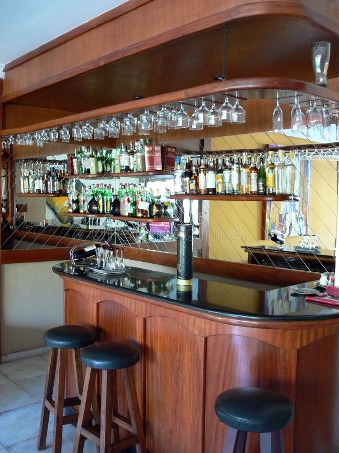 Bar royalty free stock photo