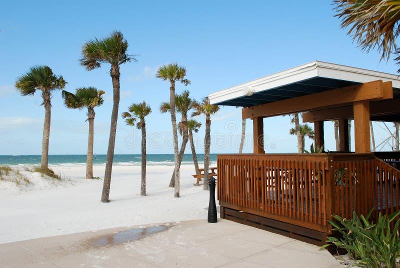 Bar on a Beach royalty free stock photography