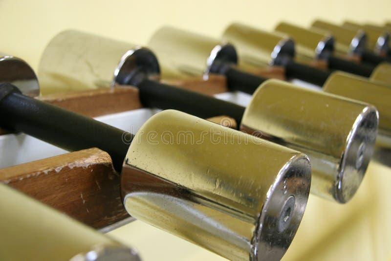 Bar-bells 2 lizenzfreies stockbild