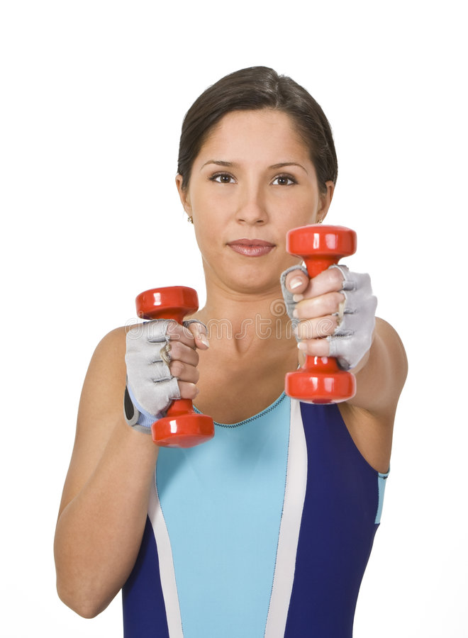 Download Bar-bells exercise stock image. Image of fingers, fitness - 4107987