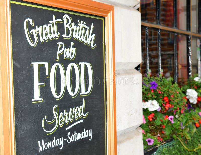 Bar britânico imagens de stock royalty free