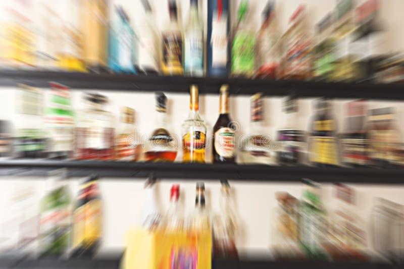 Bar brouillé images stock