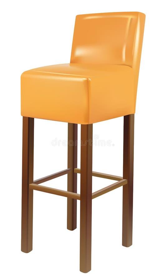 Download Bar chair stock illustration. Illustration of design - 23386311