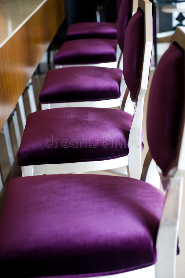 Bar chairs royalty free stock image
