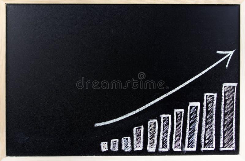 Bar chart royalty free stock photo