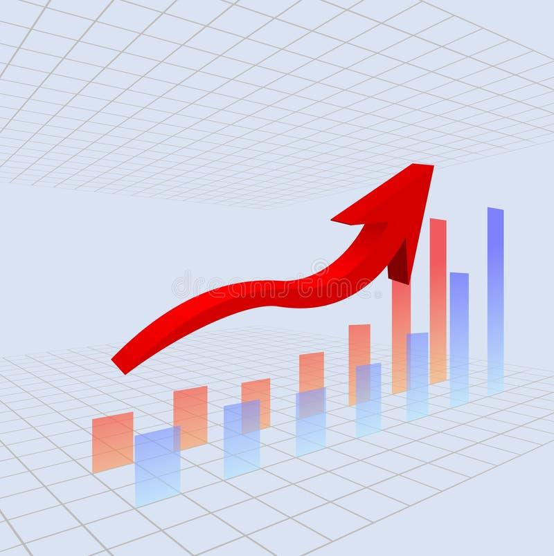 Bar Chart vector illustration