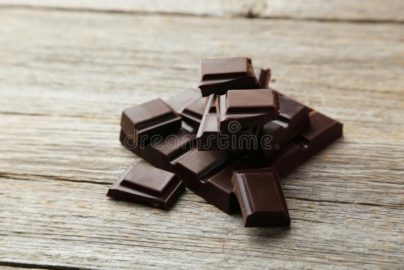 bar chokladdark arkivbild
