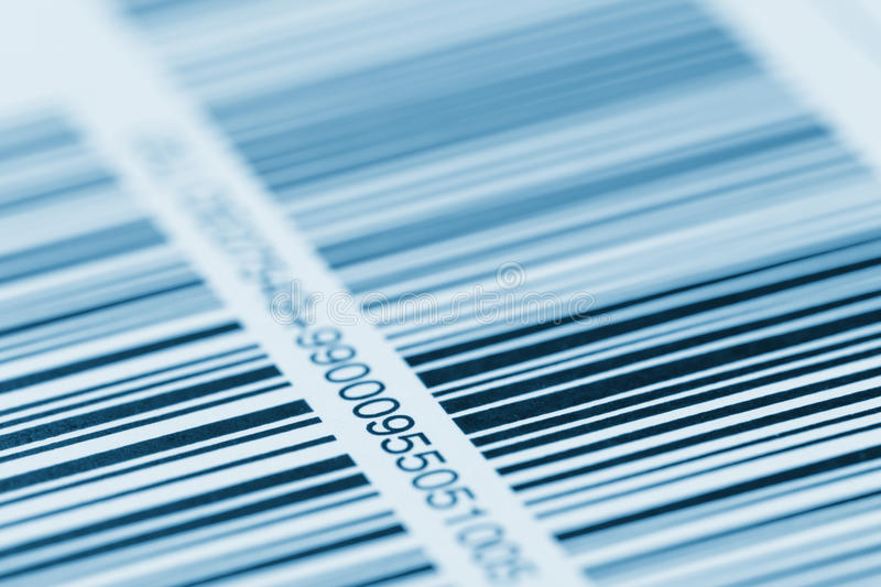 Bar code stock image