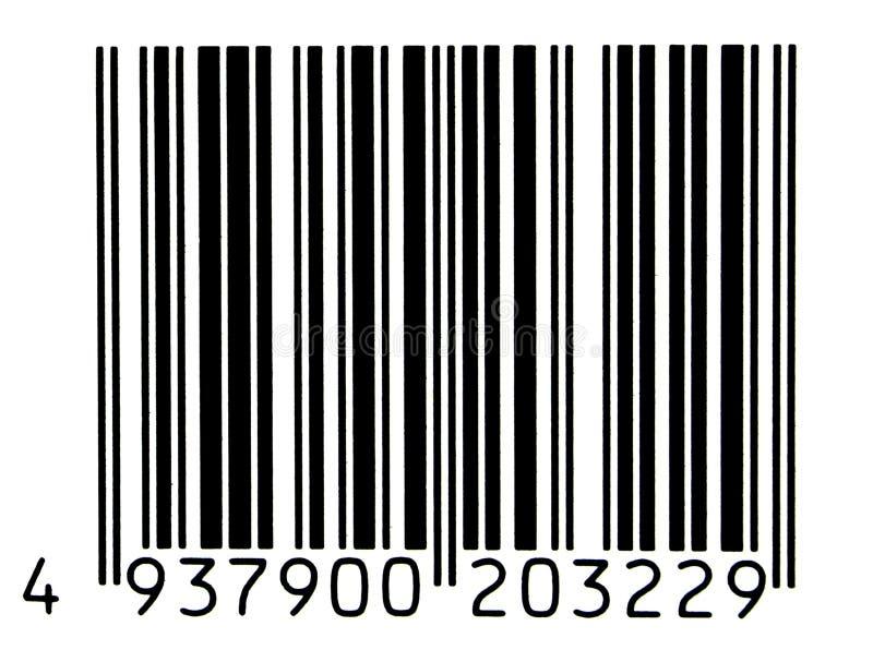 Bar code royalty free illustration