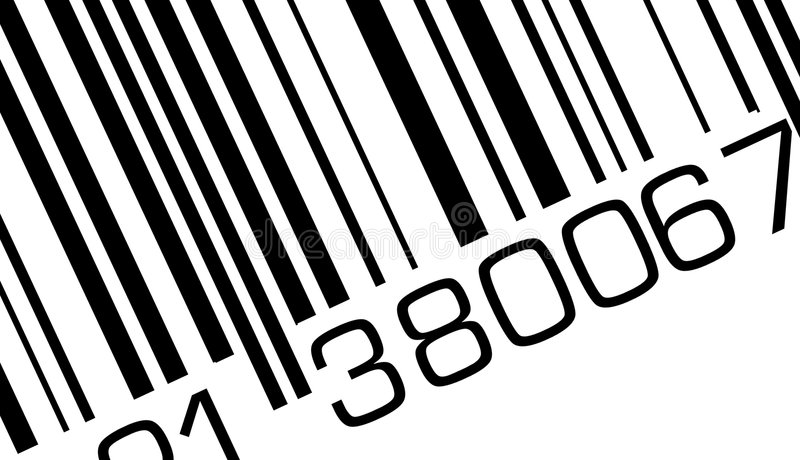 Bar code royalty free stock photos