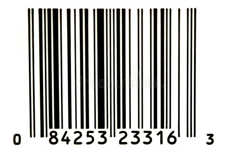 Bar Code. 1 royalty free stock photography