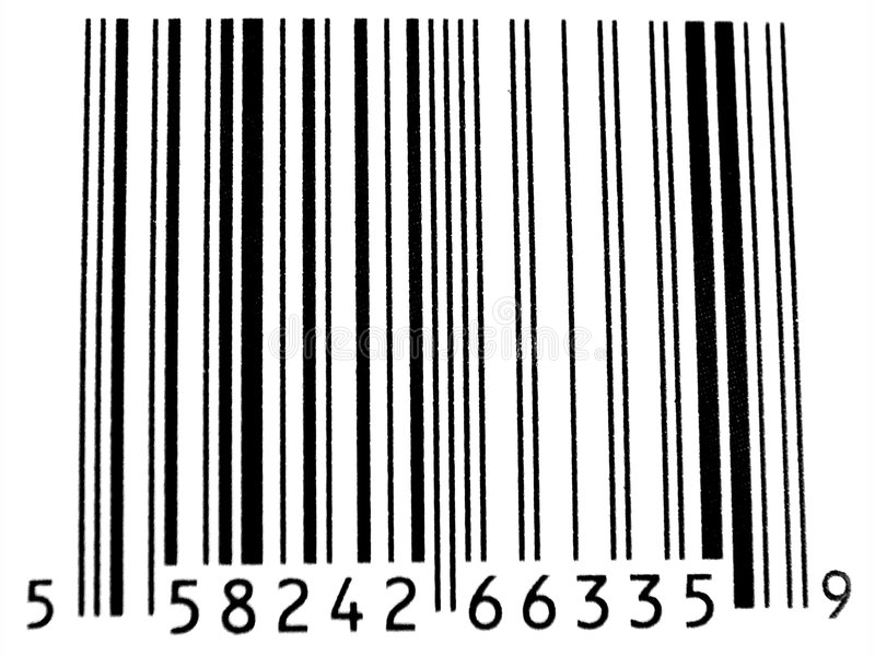 Download Bar Code stock image. Image of code, focus, numbers, white - 70595