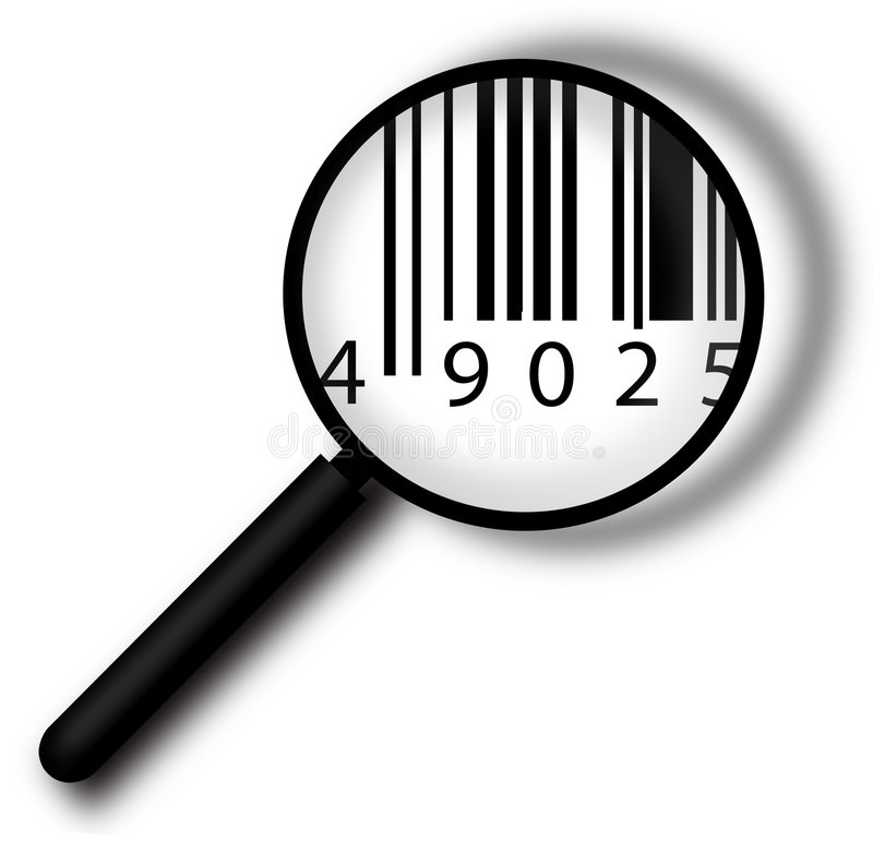 Free Bar Code Label Stock Photography - 4619272