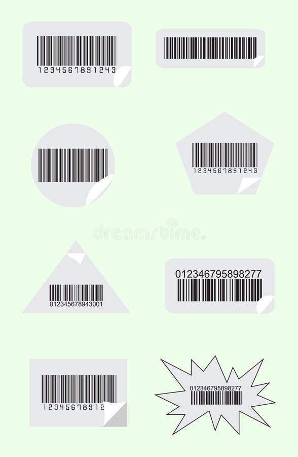 Download Bar codes stock vector. Image of industrial, element - 15107215