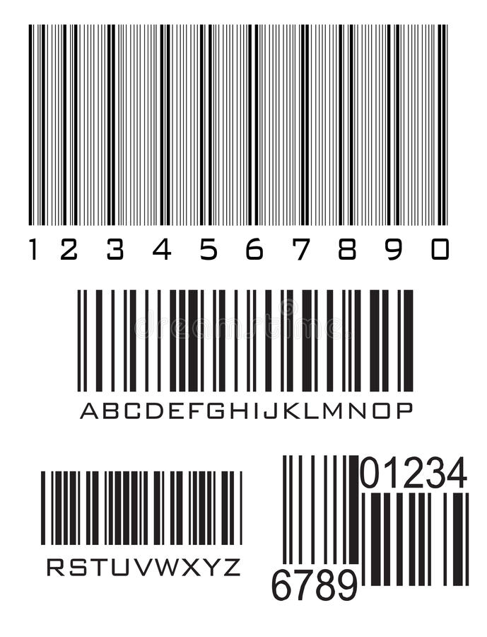 Download Bar codes stock vector. Image of buyer, identification - 15107239