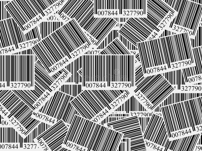 Bar Codes Background Stock Image