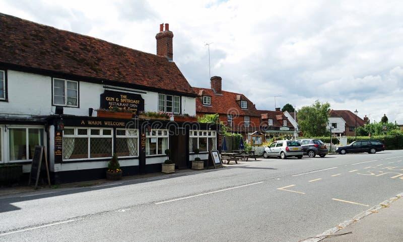 Bar da vila de Horsmonden foto de stock royalty free