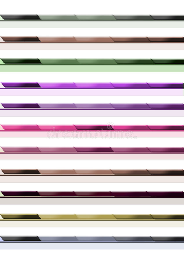 Bar de carte de site Web illustration de vecteur
