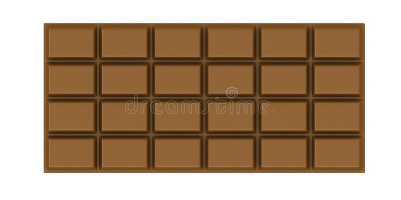Bar de chocolat illustration libre de droits