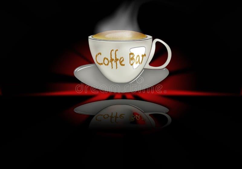 Bar de Coffe images libres de droits